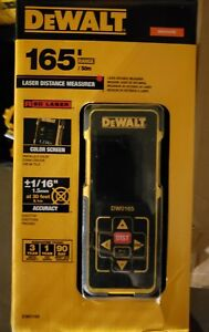 Dewalt 165 Ft Bluetooth Enabled Laser Distance Measurer Dw0165s New