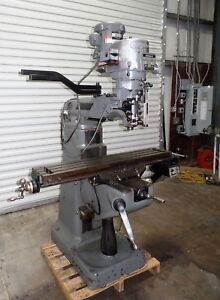 1995 Bridgeport Milling Machine 9x48 2hp