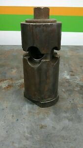 Lathe Boring Bar Fixture Holder Head Large Tool Post Turret 3 Hole Lantern Size