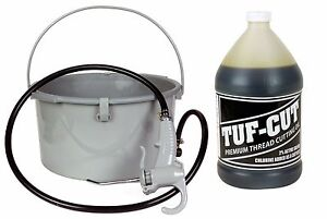 Pt 418 Oiler 10883 1 Gallon Tuf cut Dark Oil Fits Ridgid 300 700 12r