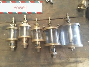 Vintage Powell Brass Oiler Collection x8