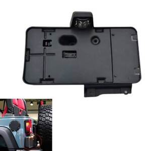 Funny Rear License Plate Tag Bracket With Light For 2007 2015 Jeep Wrangler Bd