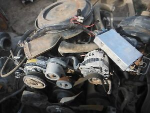 Chevy 5 7 350 Tbi Engine Complete Takeout W Harness Ecm Accessories 4 Bolt Main