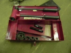 Enerpac Knockout Punch Set Case 2 1 3 4 Free Shipping
