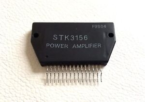 Stk3156 Heat Sink Compound audio Power Amplifier By Sanyo Lot Of 2