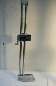 Pre owned Mitutoyo Digital Height Gauge Code No 192 607 Range 24in 600mm