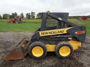 2006 New Holland L160 Skid Steer Orops New Tires 2 692 Hours