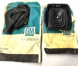 1966 1967 Chevelle Nos 4 Speed Console Seal Boots