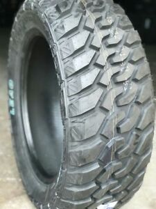 4 New 35 12 50 20 Lionsport Mt Tires 10 Ply 1250r20 Lt35x12 50r20 Mud Chevy