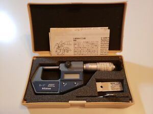 Mitutoyo 293 765 30 Digital Micrometer 0 1 With Case Excellent C