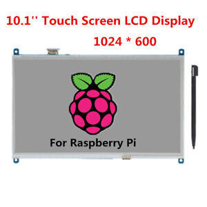 10 1 Tft Lcd Touch Screen Display Module 1024x60 Led Backlit For Raspberry Pi
