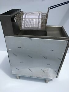 Imperial Ifs 40 e 40 Lb Immersed Element Electric Commercial Deep Fryer