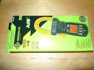Greenlee Cmi 2000 Industrial Ac dc True Rms Clamp Meter