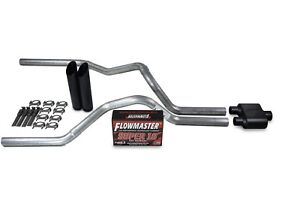 Dodge Ram 1500 Truck 09 18 2 5 Dual Exhaust Kits Flowmaster Super 10 Black Tip
