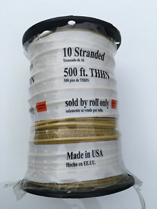 Encore 500 ft Roll 10 awg Stranded Yellow Thhn Wire damaged Packaging