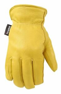 Wells Lamont 981xl Comfort Hyde Men s Full Grain Leather Glove X large New