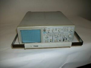 Pre owned Untested Protek 20 Mhz Oscilloscope Model 6502