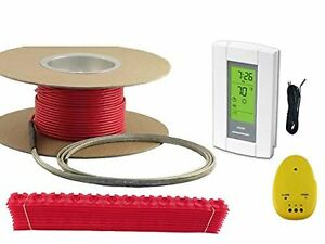 10 Sqft Warming Systems 120 V Electric Tile Radiant Floor Heating Cable W New