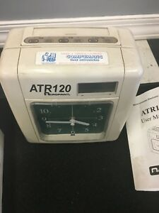 Acroprint Atr120 Automated Top Loading Electric Time Clock 010212000 Other