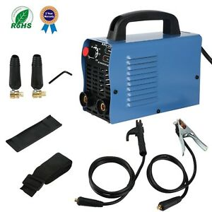 Arc 200 Welding Machine Igbt Inverter Welder Ac Dc 110v 200 Amp Welding New