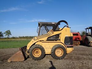 2000 Caterpillar 248 Skid Steer Loader Orops High Flow Pilot Ctls 2 853 Hrs