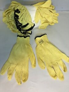 Mk30 Safety Gloves 2 Cut Level 7 Gauge Kevlar Yellow Xx large 2 Dozen