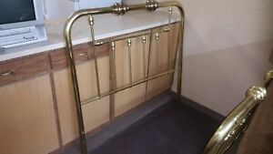 Brass Double Bed Frame Vintage Style