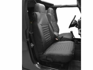 Fits 1997 2002 Jeep Wrangler Seat Cover Front Bestop 65357yz 1999 1998 2000 2001