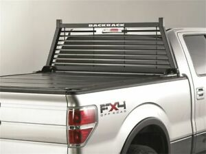 Fits 1994 2010 Dodge Ram 3500 Cab Protector And Headache Rack Backrack 41413zr 2