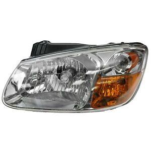 For Kia Spectra 07 09 Lh Left Driver Hand Side Headlight Headlamp Sedan