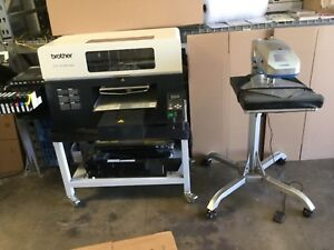 Brother Gt 381 Digital Garment Printer With 13k Prints 2 Heat Press Included