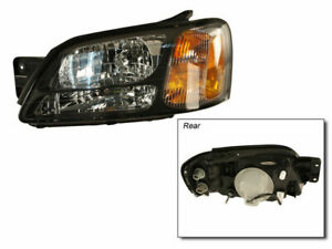 Fits 2000 2004 Subaru Legacy Headlight Assembly Left Tyc 54382tm 2001 2002 2003