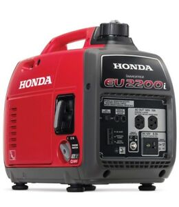 New Honda Eu2200i Portable Gas Powered Generator Inverter W Fast Free Shipping
