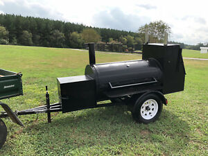 Smoker Grill Trailer a1 Competition Smoker