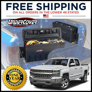 Undercover Swing Case Left Side Truck Bed Storage Sc100d 07 18 Silverado Sierra