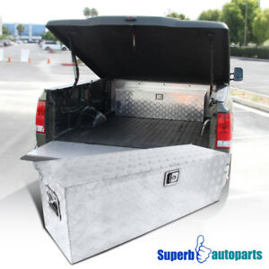 49 x15 x15 Truck Pickup Flat Bed Tool Box Underbody Storage Trunk W lock