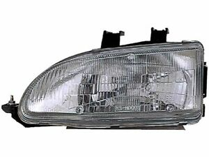 Fits 1992 1995 Honda Civic Headlight Assembly Left Dorman 32748cf 1994 1993