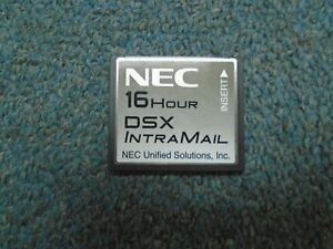 Nec Dsx 40 80 160 1091013 V1 3 Intramail 8 Port 16 Hour Flash Voice Mail System