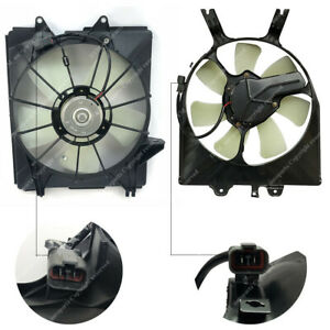 2pc Pair Set Left Right Radiator Condenser Cooling Fan Fit Honda Odyssey 05 10