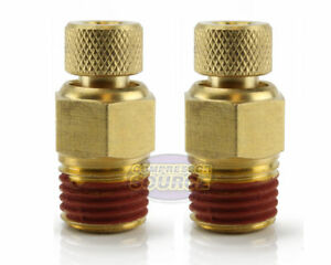 2 Male 1 4 Air Compressor Tank Moisture Water Drain Twist Petcock Brass New