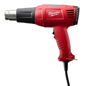 Milwaukee 8977 20 11 6 Amp Variable Temperature Heat Gun