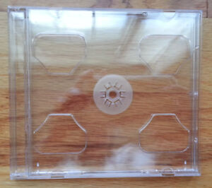 200 Double 2 Cd Jewel Cases With Clear Swing Tray 2cd