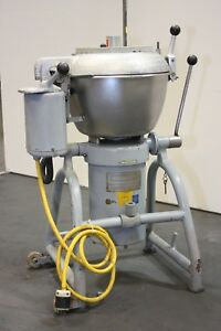 Hobart Vcm 25 Commercial Vertical Cutter Chopper Tilt Food Dough Mixer 25 Qt