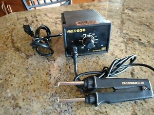 Hakko 936 Soldering Station W hakko 950 Thermal Tweezers