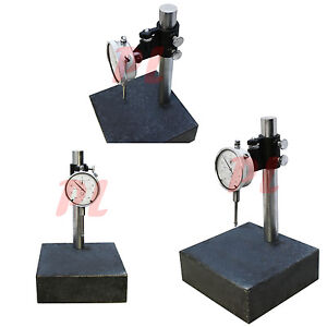 Granite Check Stand Surface Plate Dial Indicator Gauge 6x6