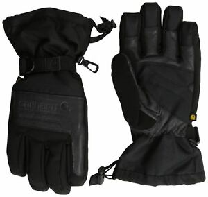 Carhartt Men s Cold Snap Insulated Work Glove Black Small