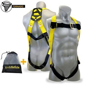 Fall Prevention Whole Body Safety Harness Roofing Carpenter Tree Climber