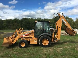 2007 Case 590sm 2wd Tractor Loader Backhoe
