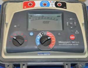 Megger Mit525 5kv Insulation Tester Nist Calibrated With Data And Warranty