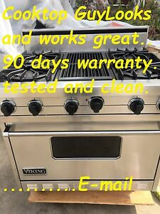 Viking 36 Pro Stainless Range 4 Grill In Los Angeles Or 6 Burners In La